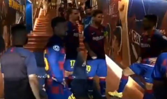 梅西对阵那不勒斯中场讲话披露:稳住,还能再进一个!