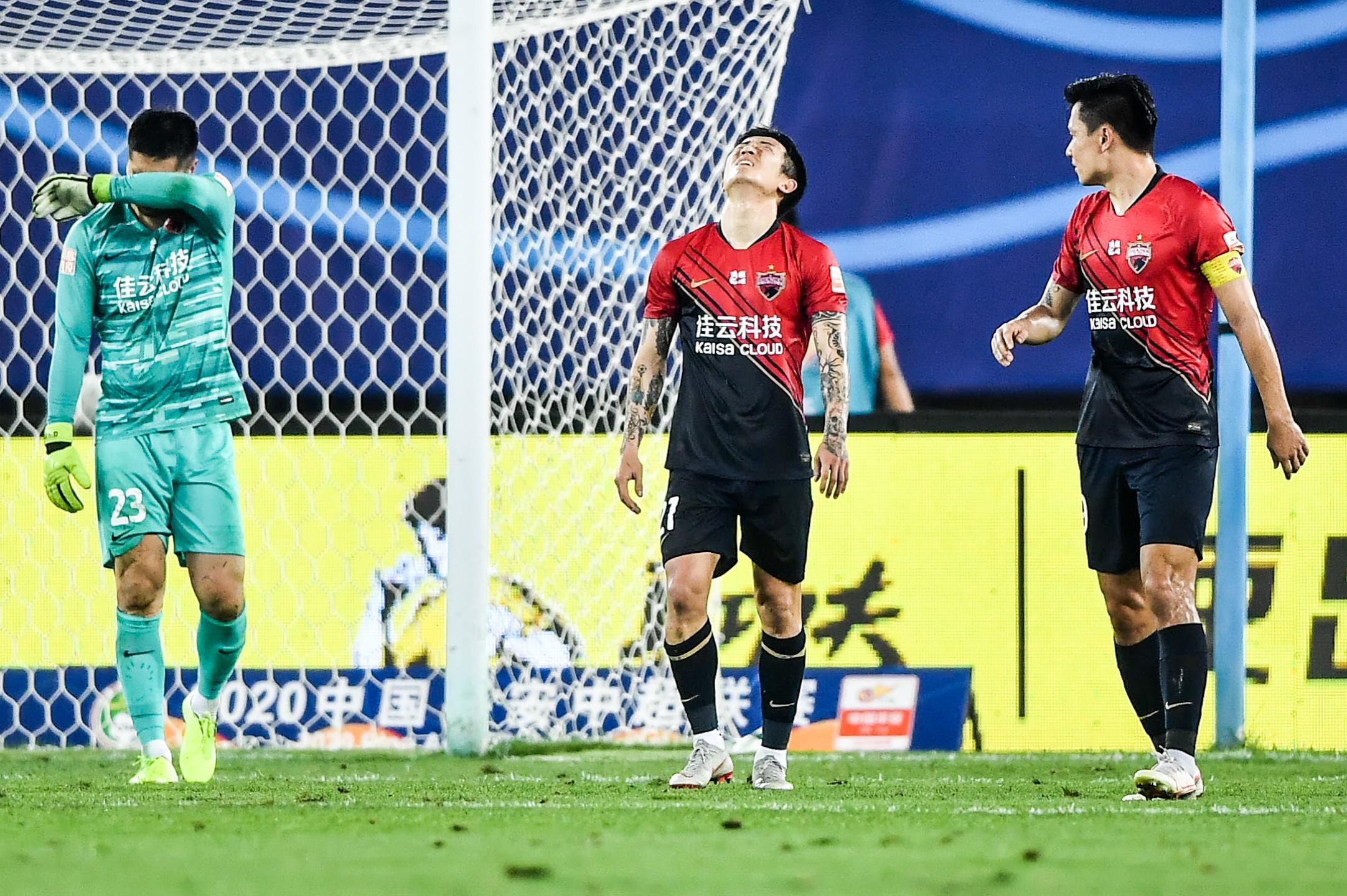 本赛季始次,广东中超3队本轮通盘输球