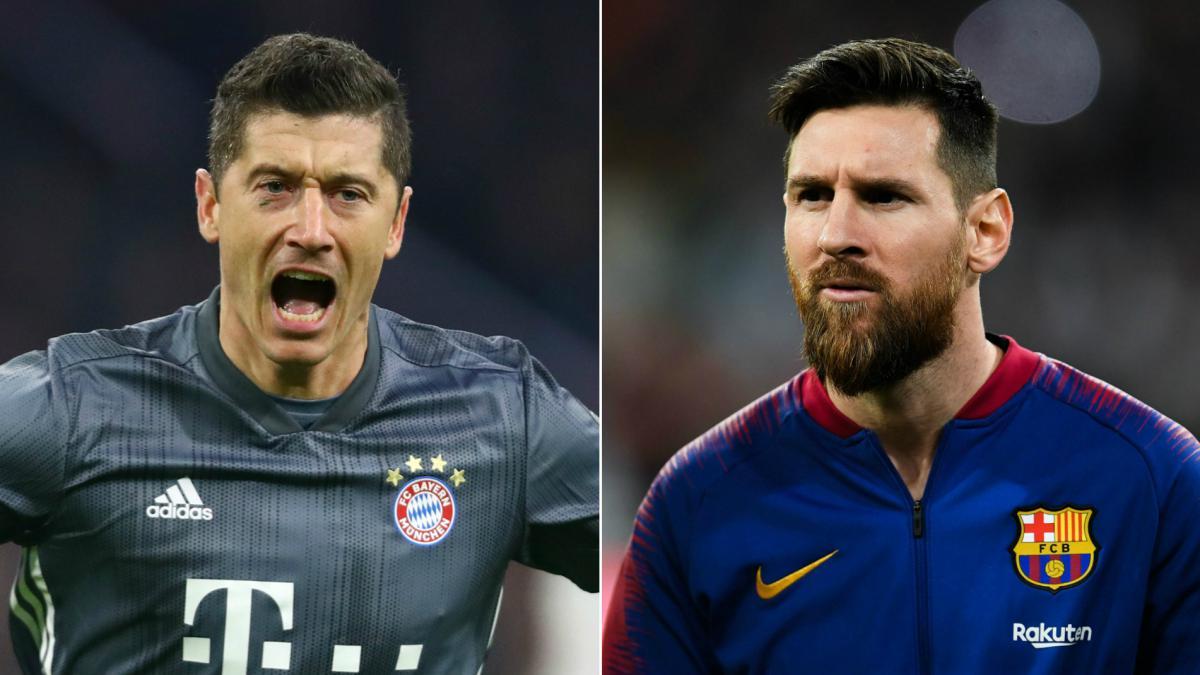 瓦刀:莱万和梅西谁晋级,谁就可称自己为2020年最佳球员