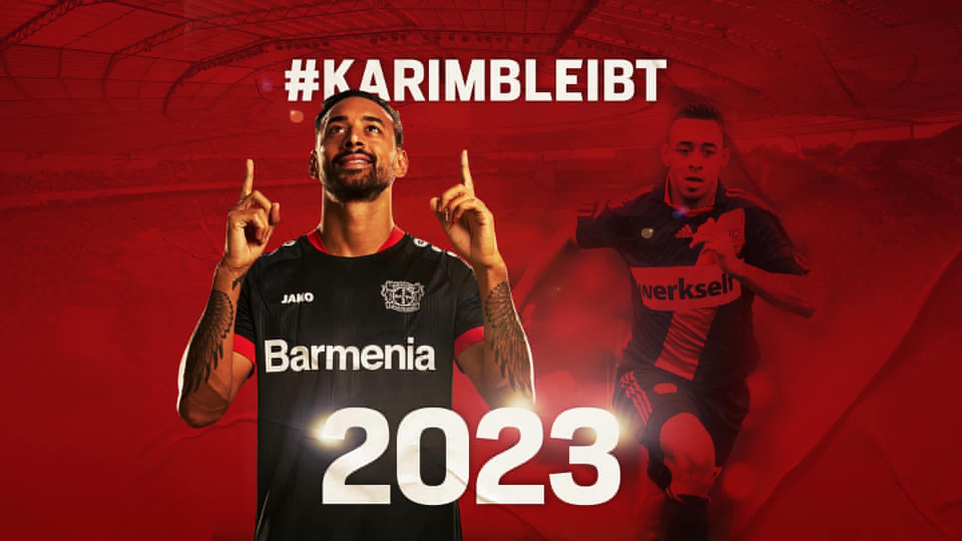 官方:勒沃库森与德国前锋贝拉拉比续约至2023年