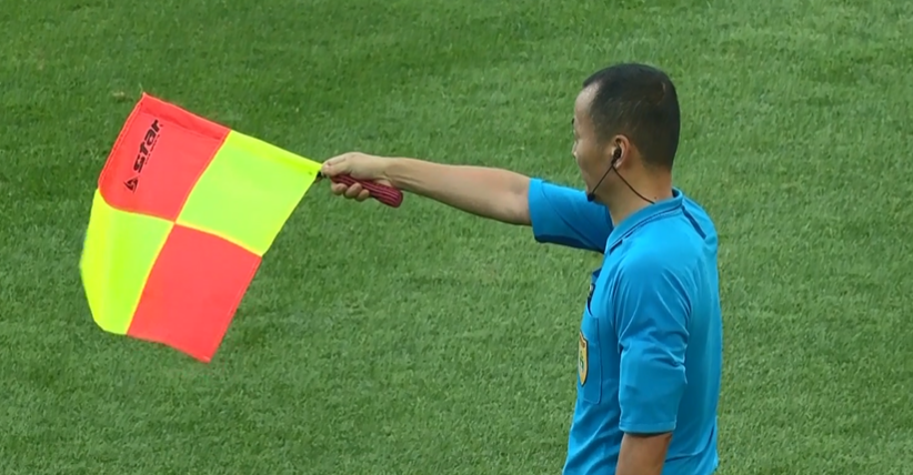 GIF:多拉多禁区内破门,被判越位在先进球无效