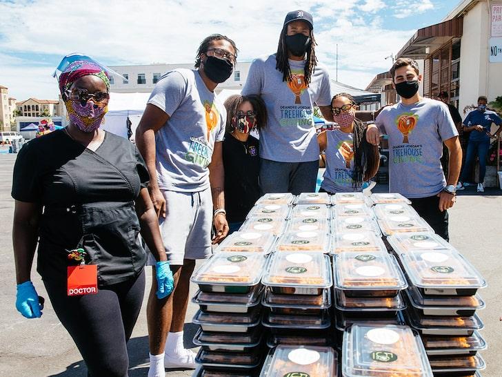 小乔丹为200名抗击新冠疫情的一线工作者提供免费食物