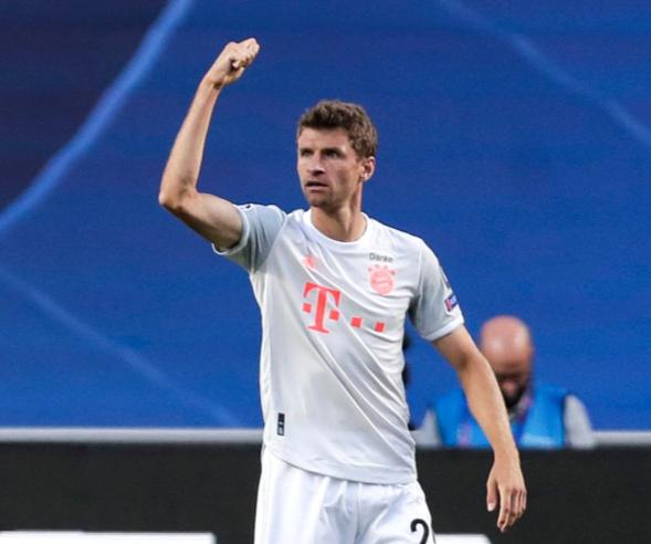 23球超越莱万,穆勒成梅罗后欧冠淘汰赛进球第3多球员