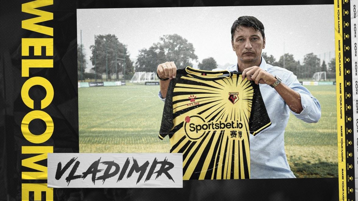 官方:弗拉迪米尔-伊维奇成为沃特福德主帅,签约1年