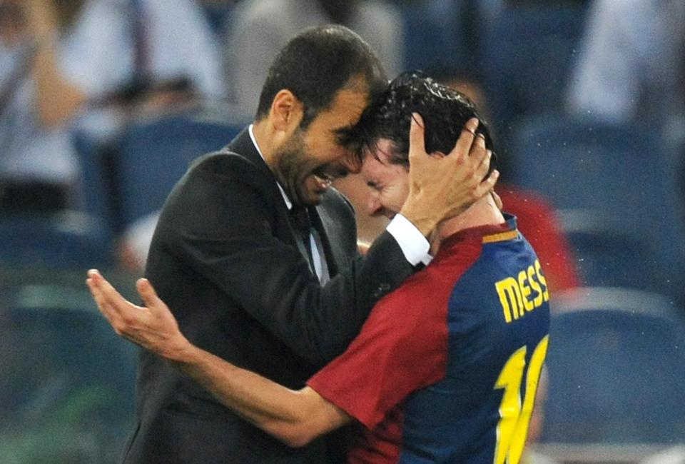 本特:若梅西离开巴萨,希望他加盟曼城,他就像瓜帅的孩子