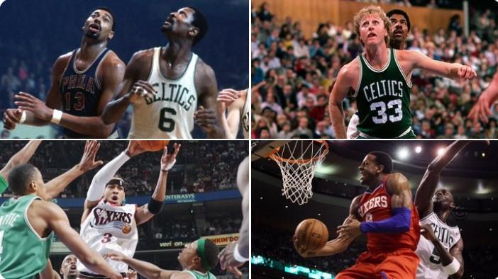 76人与凯尔特人第21次在季后赛相遇,创NBA历史纪录