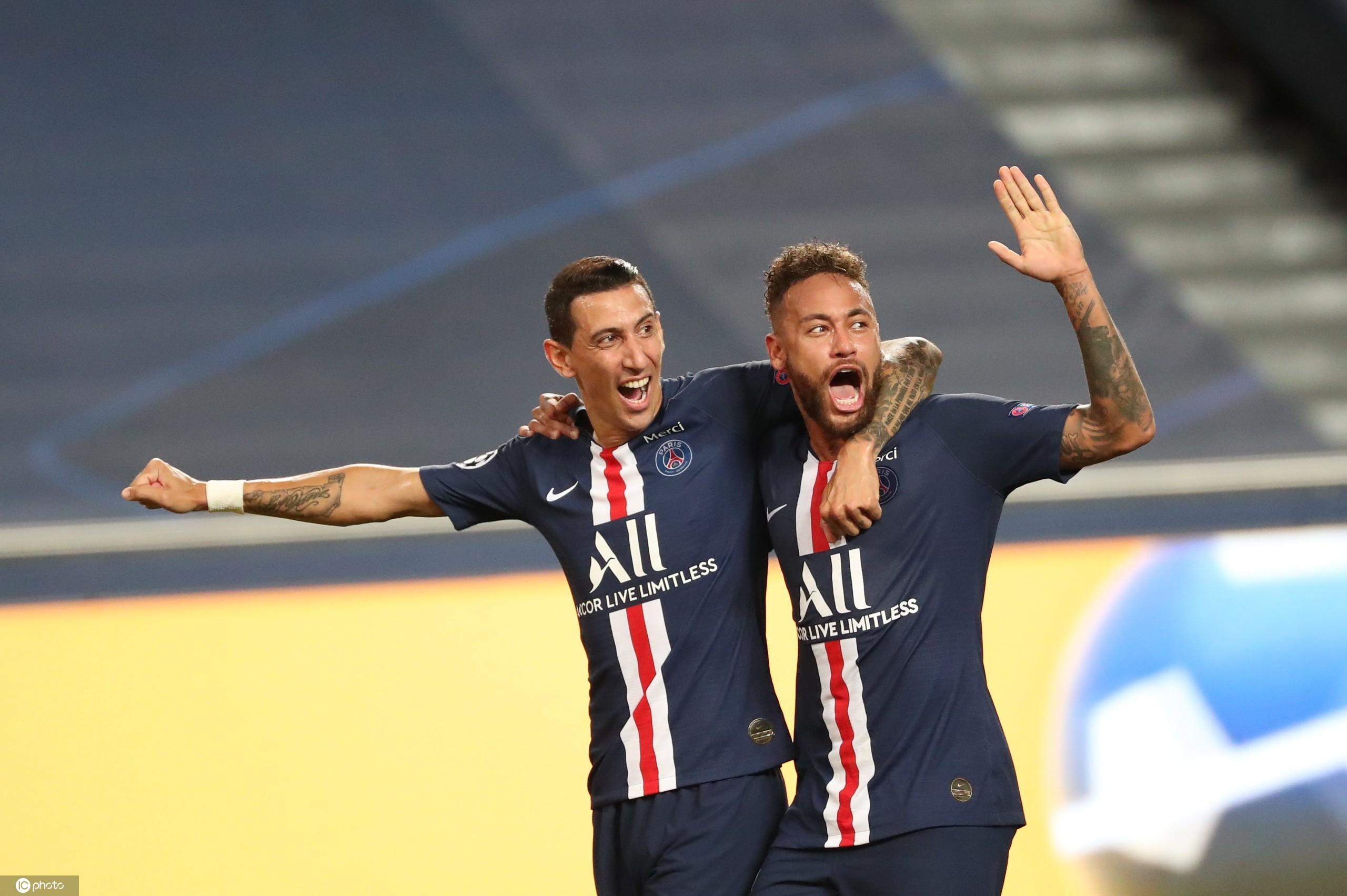 迪马利亚两传一射,大巴黎3-0莱比锡队史首进欧冠决赛