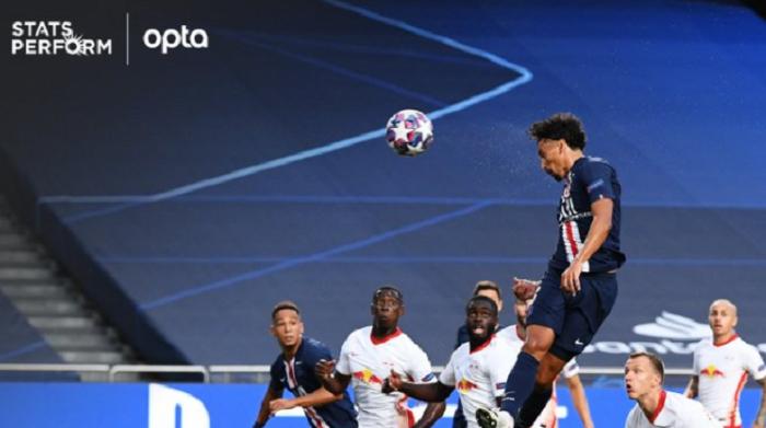 巴黎连续34场欧冠比赛进球,追平皇马纪录