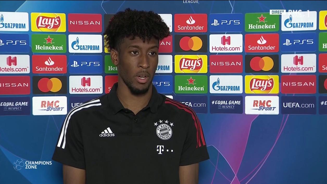 科曼:我心100%属于拜仁,决赛不会给巴黎留情面