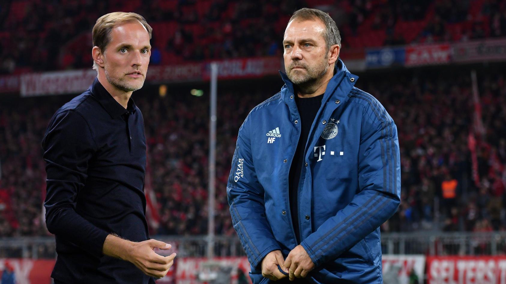 弗里克对阵图赫尔,欧冠决赛第二次两位德国主帅重逢