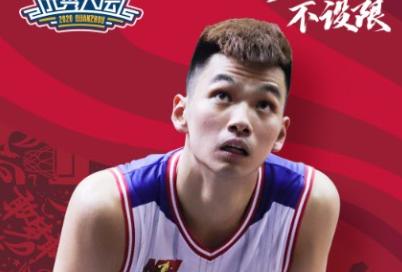 广州男篮第二轮第二顺位选择了来自NBL佛山的何俊坚