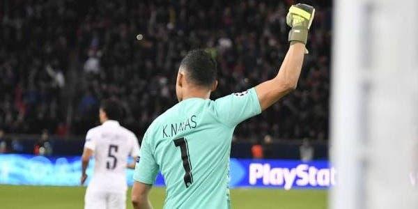 队报:巴黎门将纳瓦斯已恢复训练,有望在欧冠决赛首发