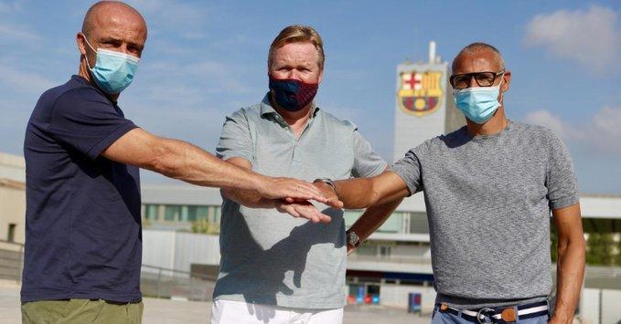 官方:前瑞典前锋拉尔森与前阿贾克斯助教加入科曼团队