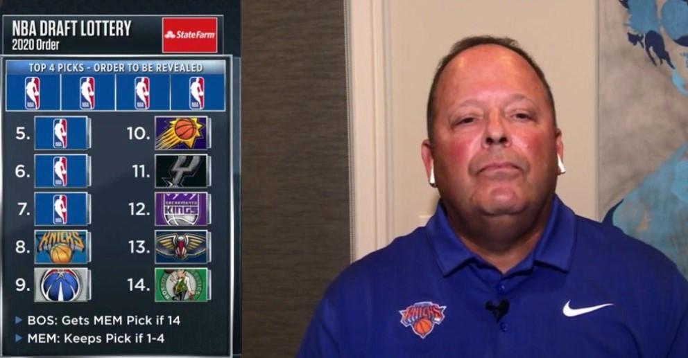 尼克-杨:尼克斯是得罪NBA了吗?怎么总拿不到状元签?