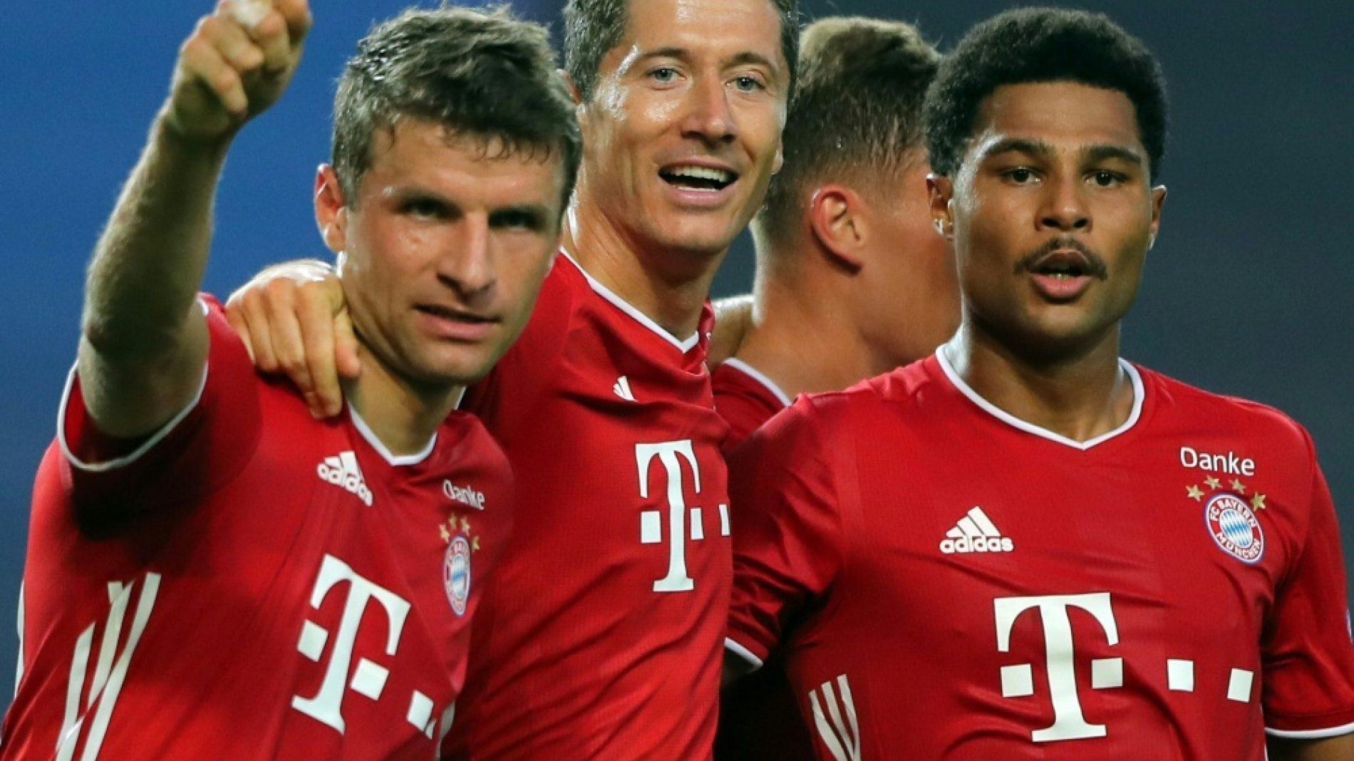 拜仁战巴黎是里斯本上演的第二场德法决赛,第一场28年前