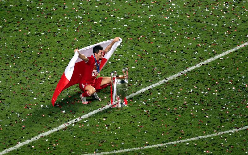莱万欧冠打进15球,打破梅罗对欧冠最佳射手13年的垄断