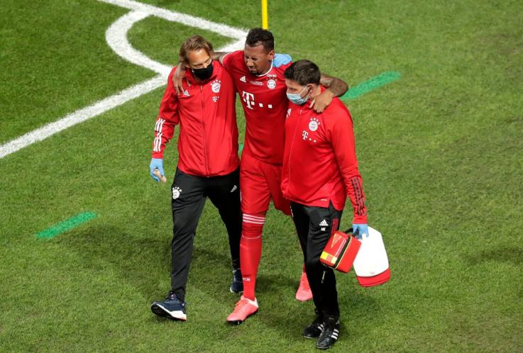 法尔克:博阿滕将因伤休息2-3周的时间