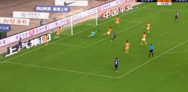 GIF:先拔头筹!乔纳森推射破门,卓尔0-1泰达