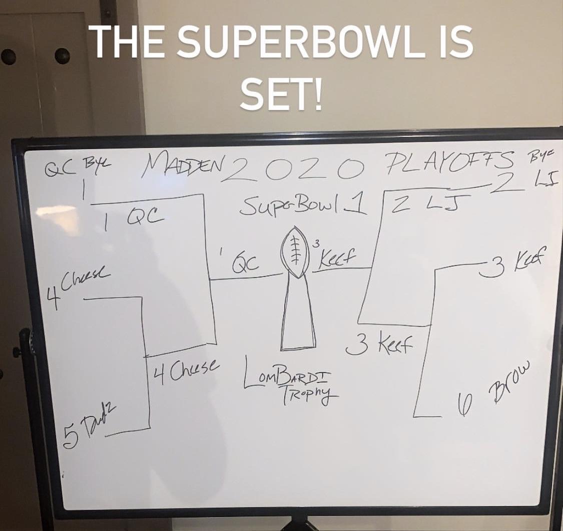 詹姆斯晒队内NFL游戏战况:库克、莫里斯会师超级碗决赛