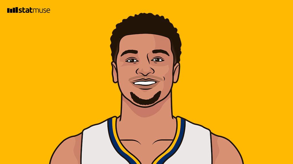默里本轮季后赛关键时刻18投13中共得34分,领跑NBA
