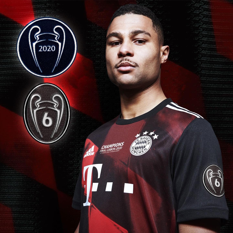 拜仁慕尼黑新赛季球衣将印有欧冠冠军徽章