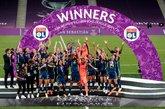女足欧冠决赛:3-1战胜狼堡,里昂女足