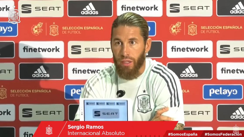 拉莫斯:梅西有权决定自己的未来,当然希望他留下来