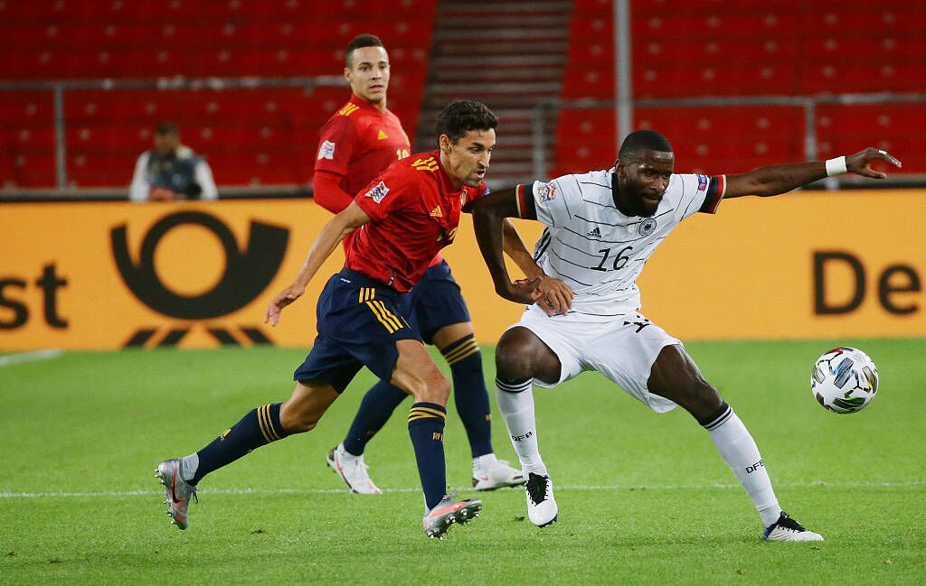 欧国联:维尔纳破门加亚绝平,德国1-1西班牙