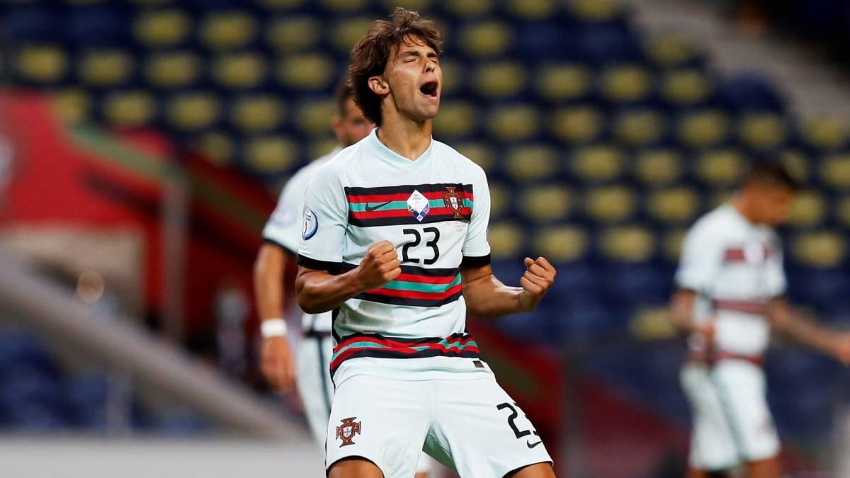 费利克斯:终于取得国家队处子球,希望葡萄牙继续赢下去
