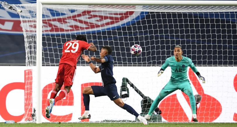 官方:科曼欧冠决赛头球破门被评选为拜仁8月最佳进球