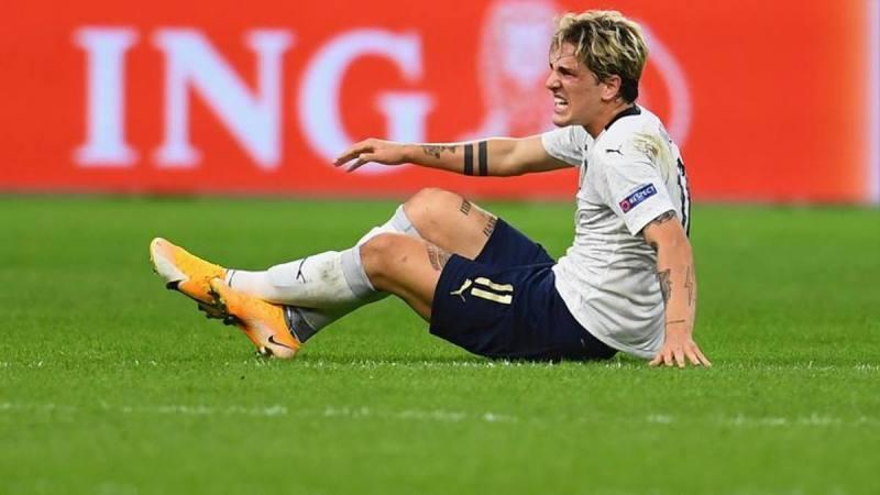 噩耗!扎尼奥洛确诊左膝十字韧带撕裂,预计缺席六个月