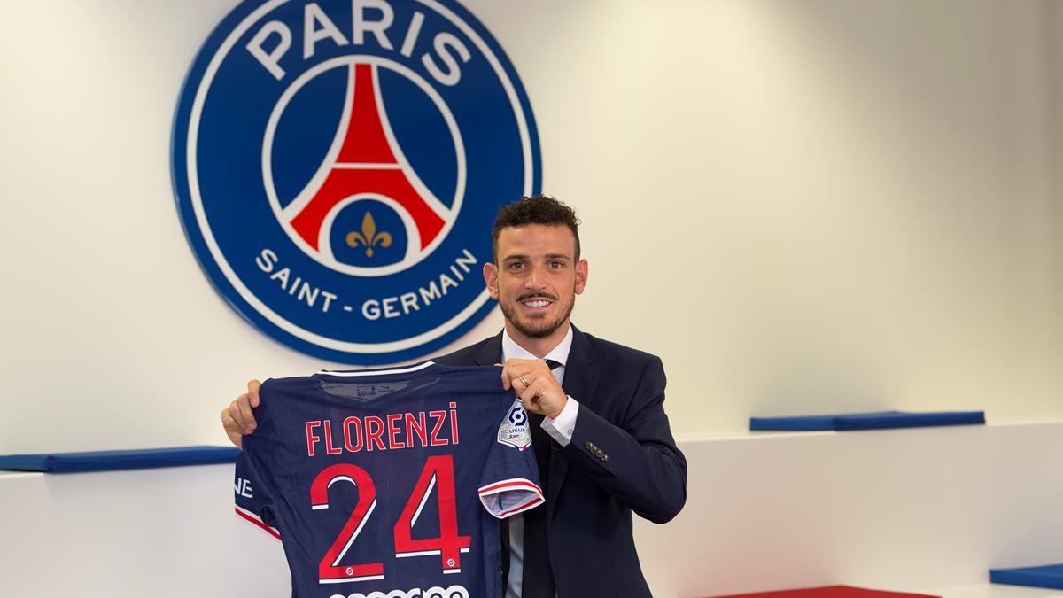 官方:巴黎圣日尔曼租借+买断签下罗马边后卫弗洛伦齐