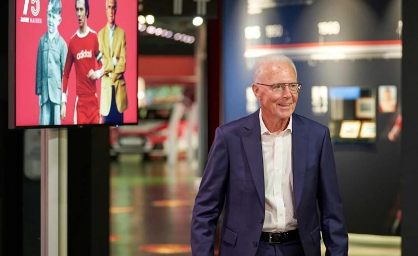 拜仁慕尼黑为贝肯鲍尔举办凯撒特别展览,庆祝75岁生日