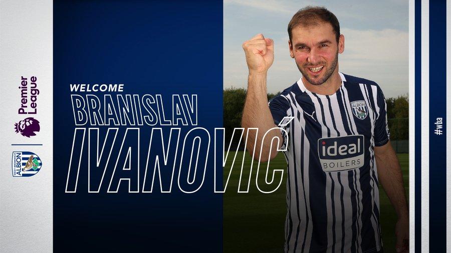 官方:前蓝军后卫伊万诺维奇自由转会加盟西布朗 第1张