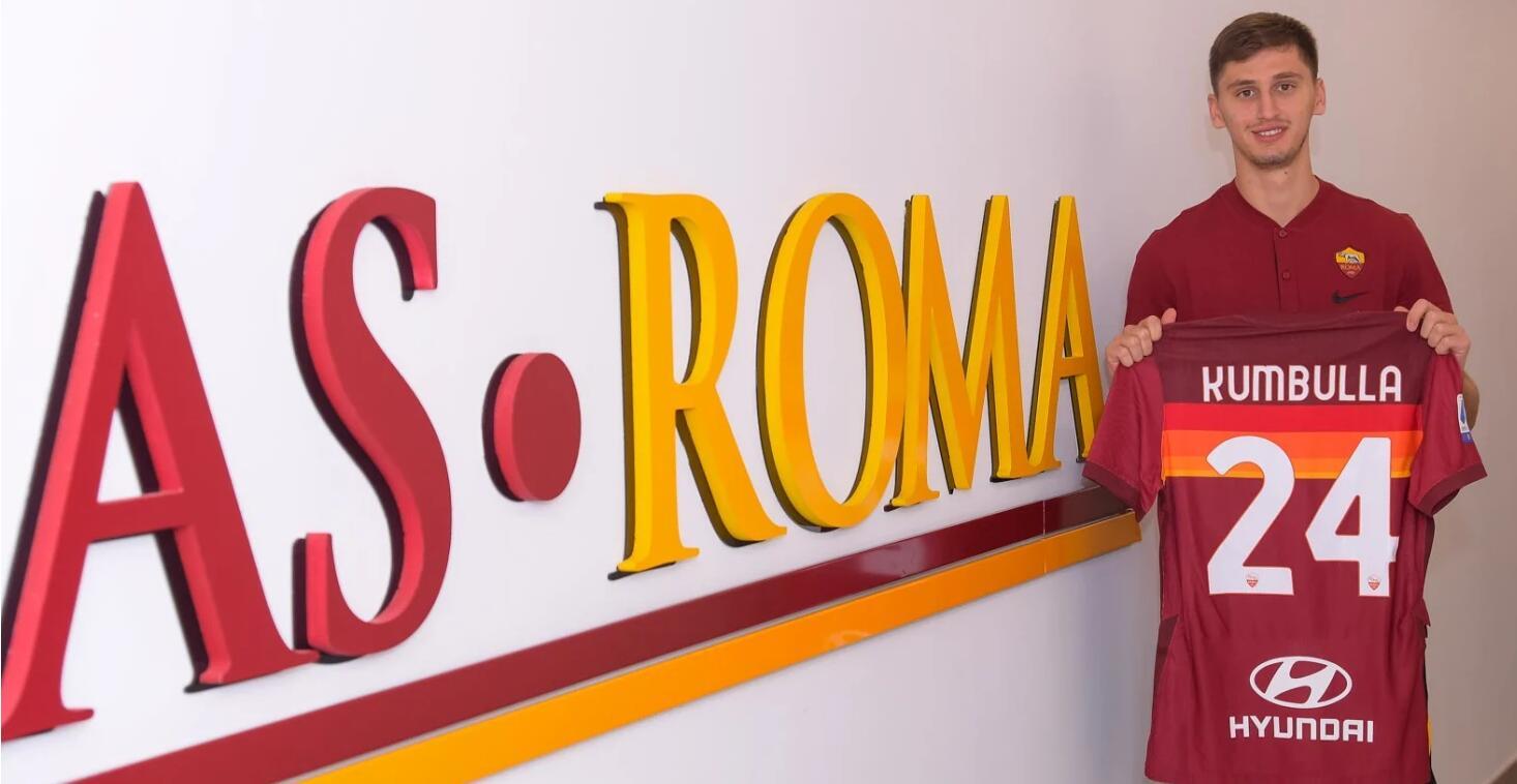 《【煜星平台测速地址】官方:罗马签下维罗纳中卫库姆布拉,身穿24号球衣》