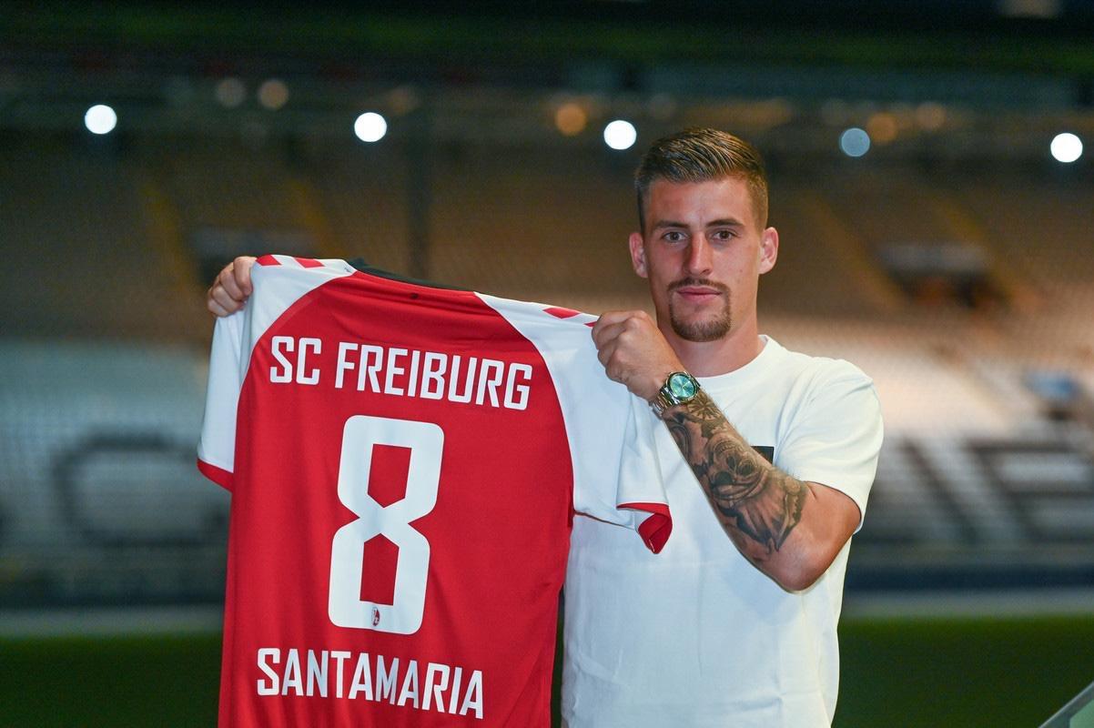 弗赖堡官方:昂热中场圣马利亚正式加盟球队