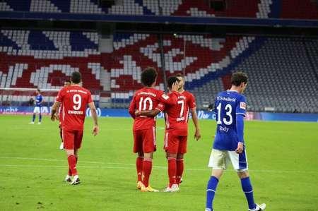 GIF:萨内助攻格纳布里完成帽子戏法,拜仁5球领先
