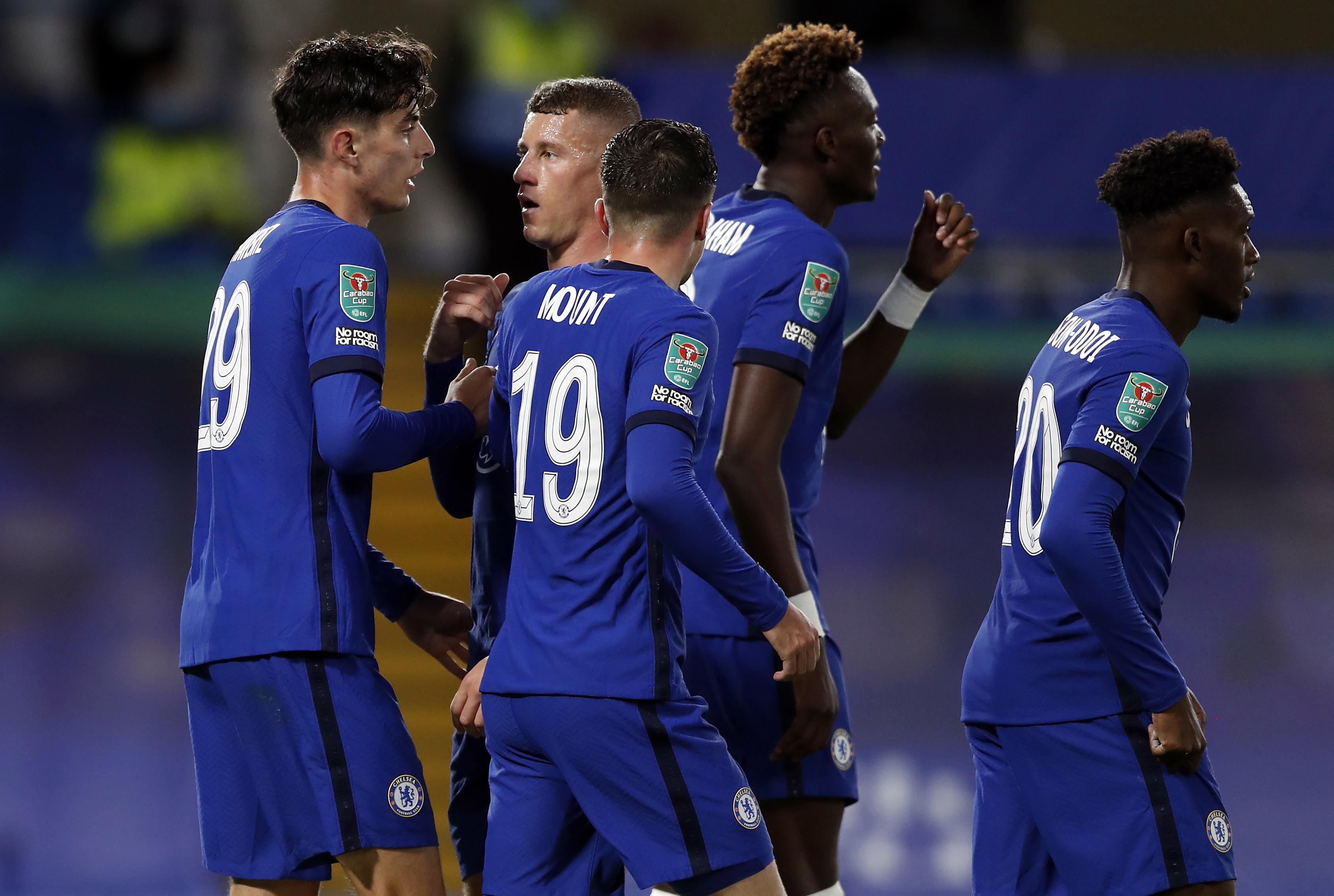[赛后讨论]联赛杯:哈弗茨戴帽亚伯拉罕传射,切尔西6-0晋级