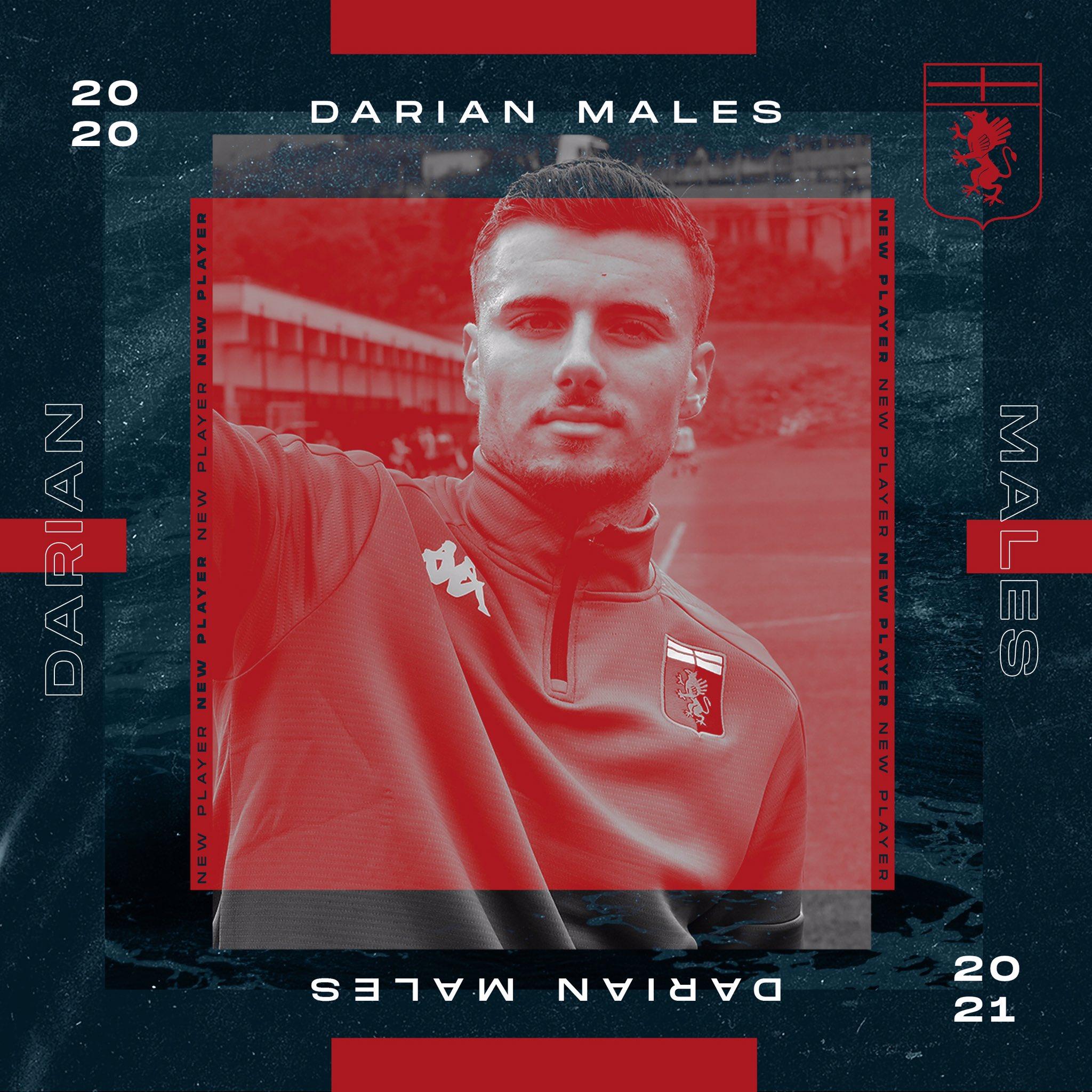 官方:国际米兰19岁瑞士前锋马尔斯租借加盟热那亚