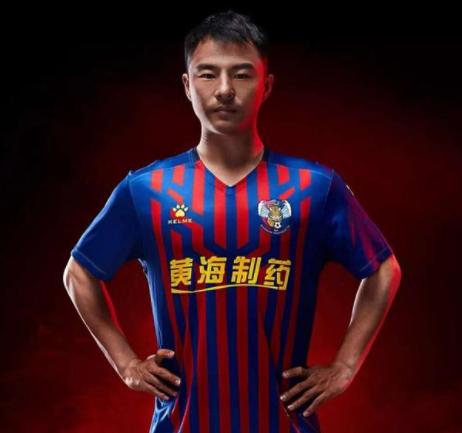 GIF:杨宇助攻高章鱼直播翔头球破门,青岛黄海1-0天津泰达