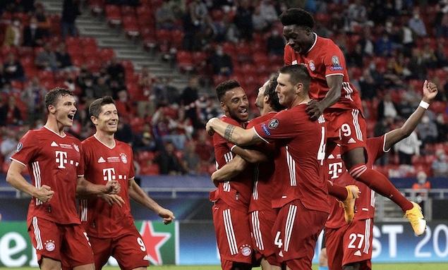 欧超杯:戈雷茨卡马丁内斯破门,拜仁2-1逆转塞维夺冠