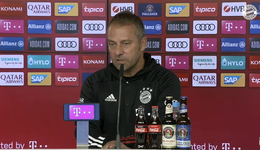 弗里克:我早就说了塞维利亚很难踢,转会的事我得安静点
