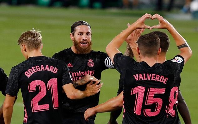 西甲联赛第3轮,皇家贝蒂斯主场迎战皇家马德里