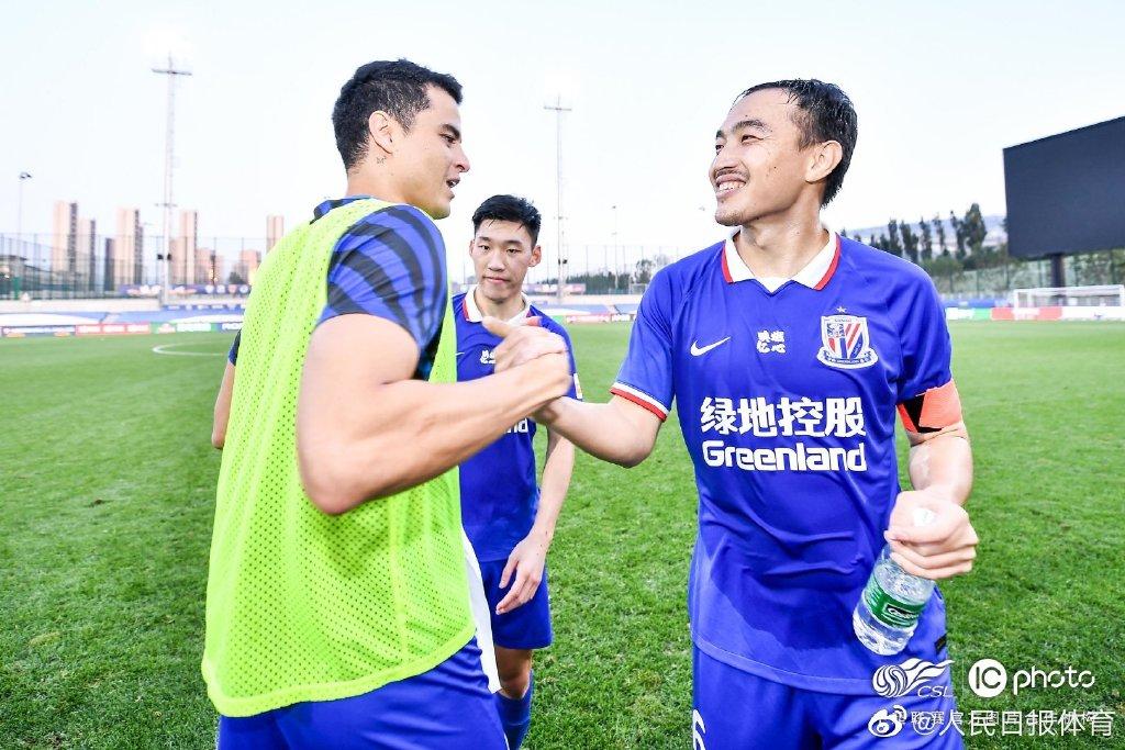 人民日报:申花全华班拿到6分+零封,给了本土球员信心