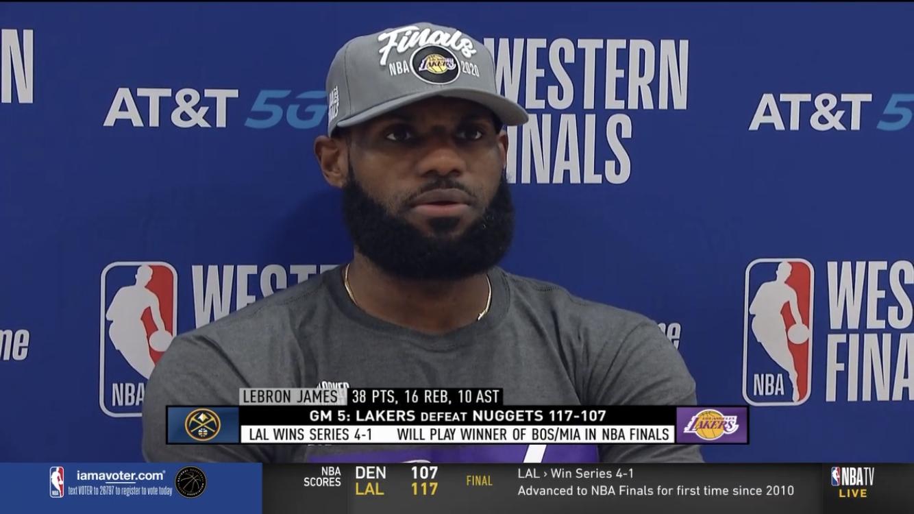 詹姆斯:我听到了许多关于我来湖人不是为了篮球的说法
