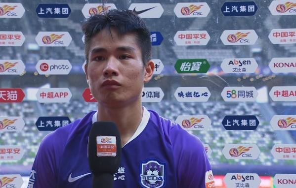钱宇淼:一阶段球队踢得确实不好,回去要抓紧训练