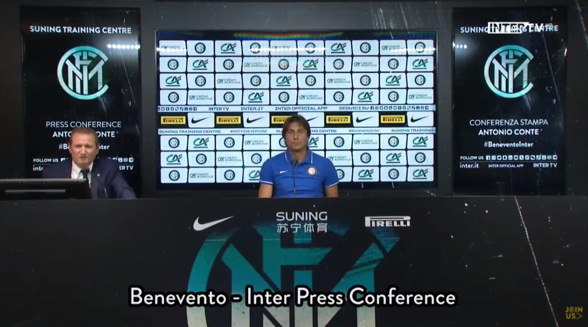 孔蒂:我们会坚持攻势足球的打法,但也会注意攻守平衡