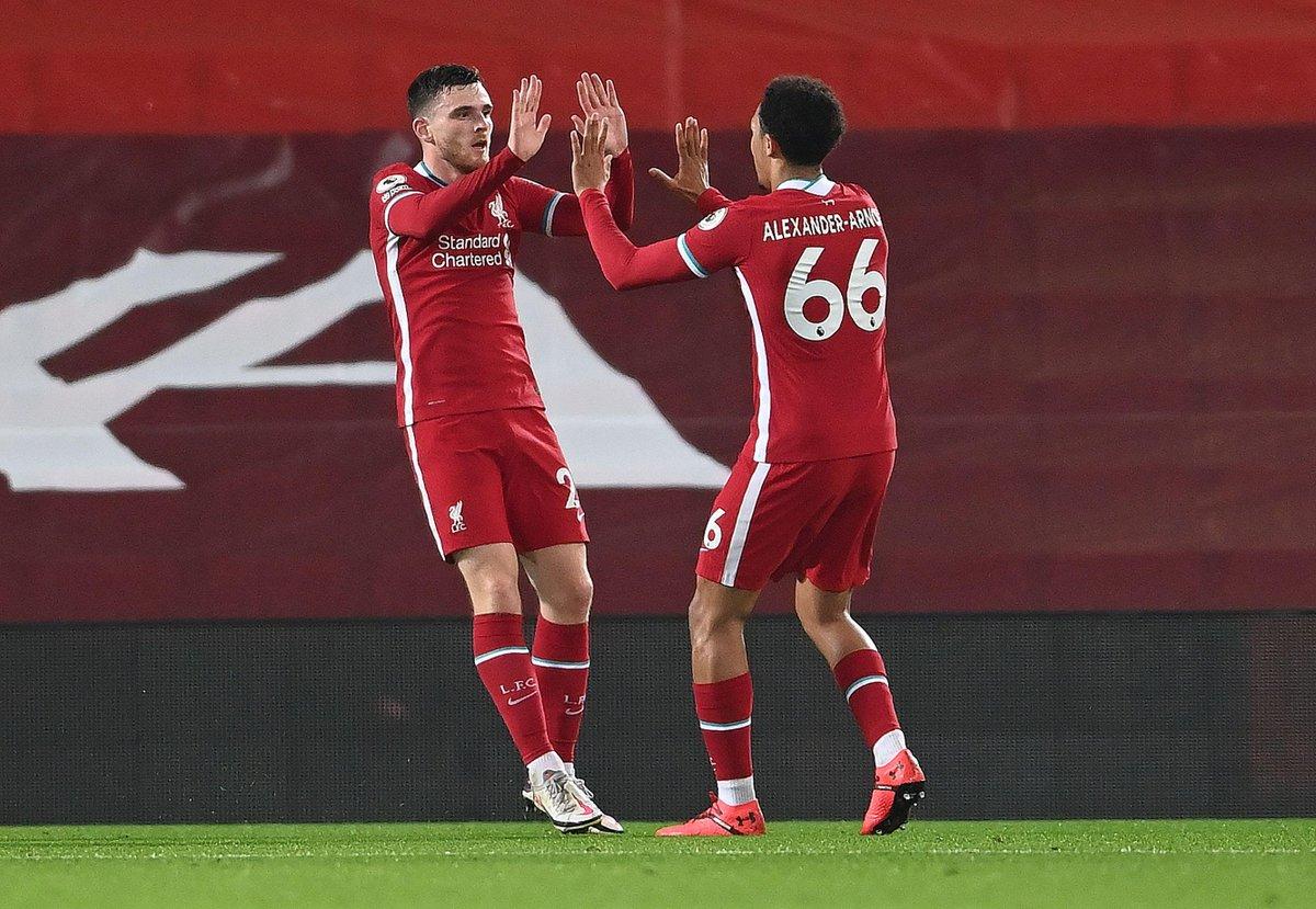 本轮英超联赛,利物浦3-1打败阿森纳