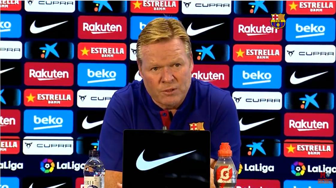 科曼:梅西号召团结是好事,但要让他开心得靠赢球