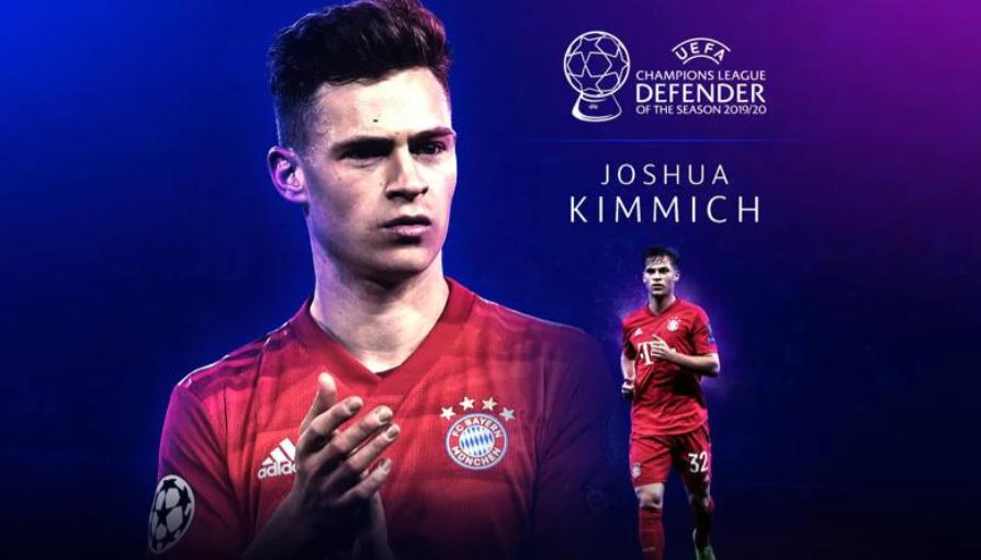 2019-20赛季欧冠最佳后卫:基米希